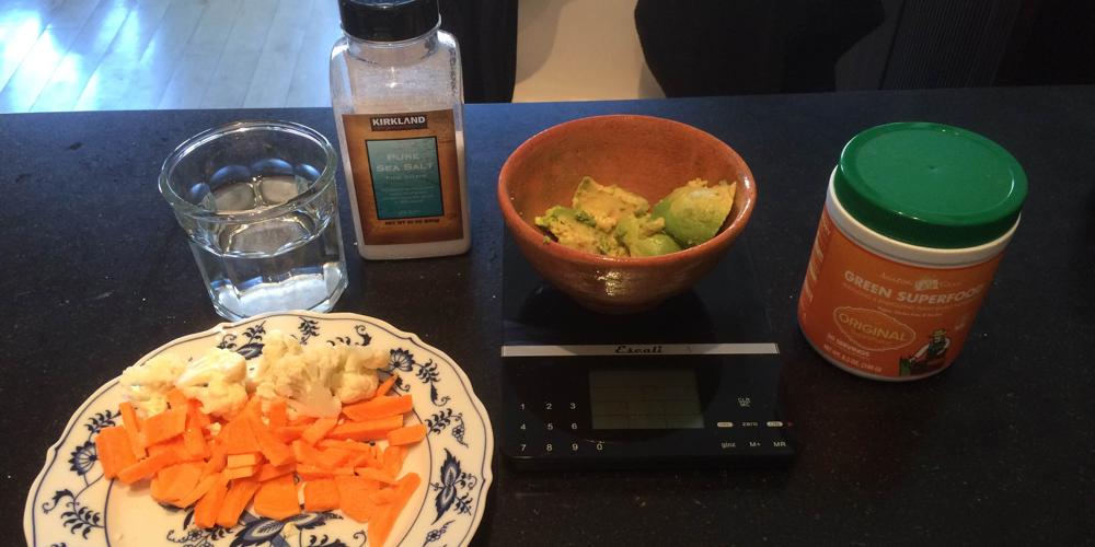 Jejum imitando refeições dietéticas