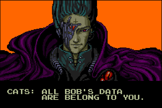 BobAPI - All Bob's data are belong to you!