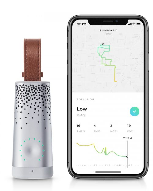 Flow Personal Air Quality Monitor